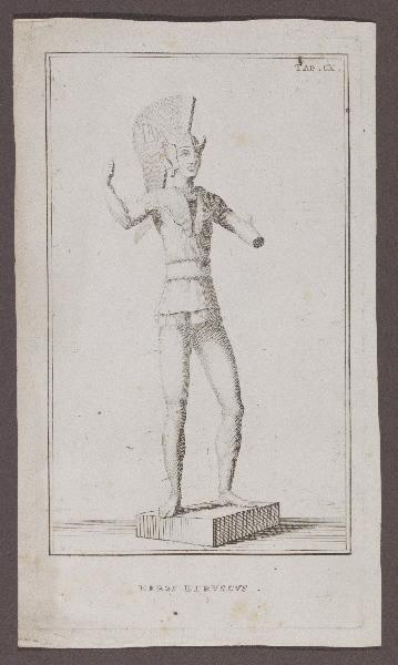 anonyme : Heros etruscus