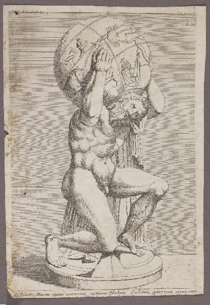 anonyme : Atlas Farnèse