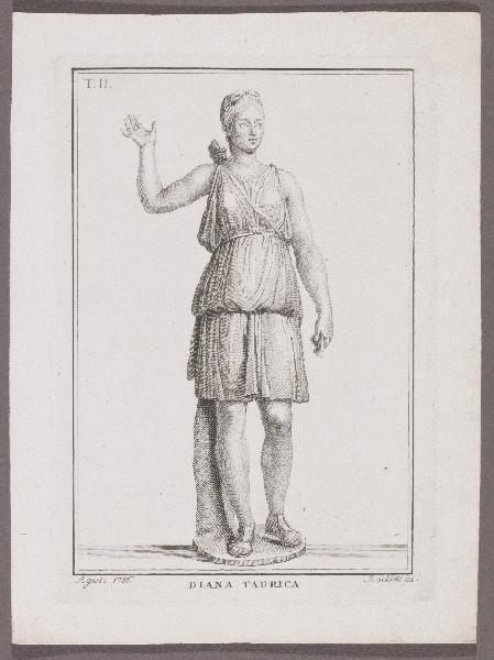 MOCHETTI Alessandro (graveur) : Diana Taurica