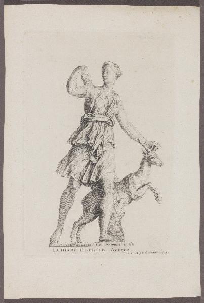 Diane de Versailles ; La Diane d'Ephèse_0