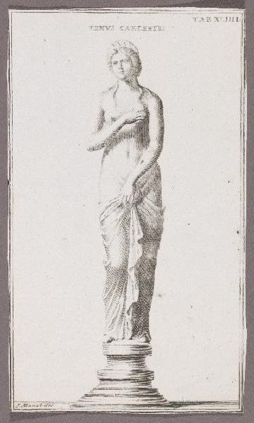 MENABUONI Giuseppe (graveur, dessinateur) : Venus Caelestis