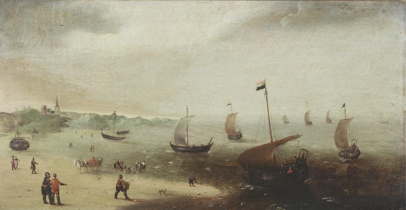 BERESTEYN Claes van (peintre) : Marine