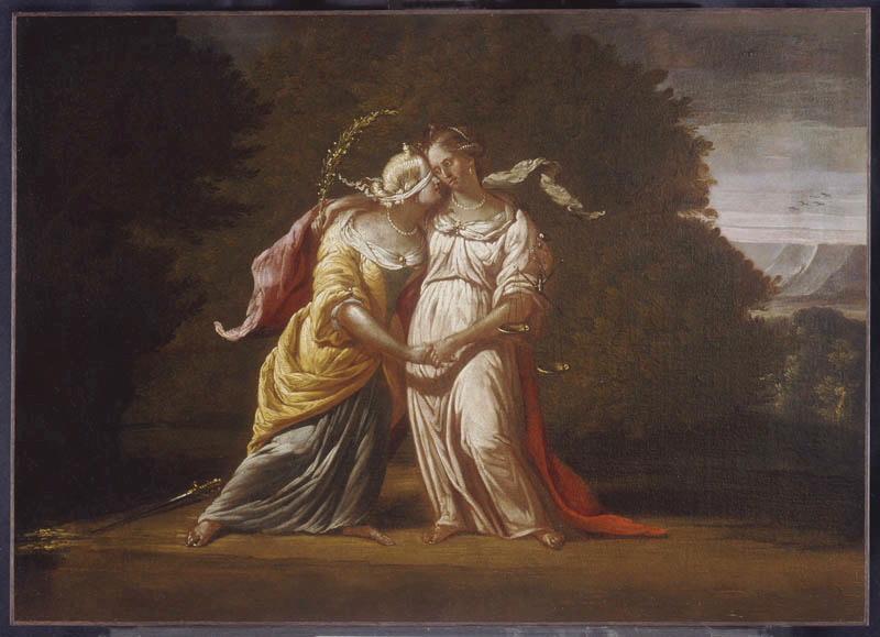 anonyme (peintre) : Allégorie de la Justice
