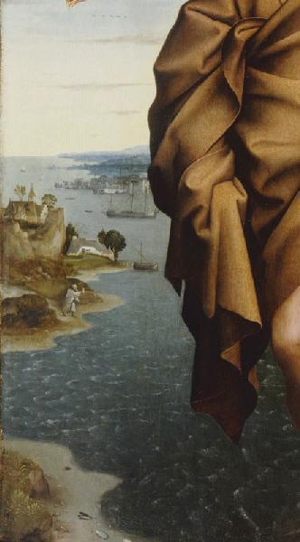 PATINIR Joachim (d'après) : Paysage avec saint Christophe portant l'Enfant Jésus