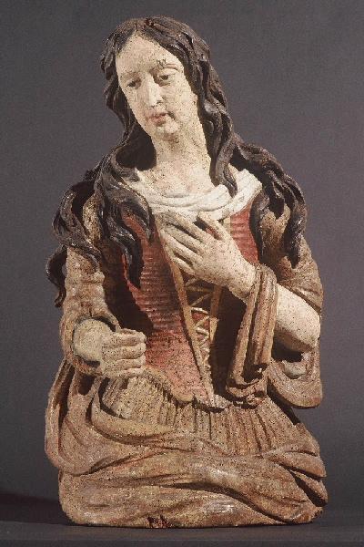 anonyme (sculpteur) : Mise au Tombeau : Marie Madeleine
