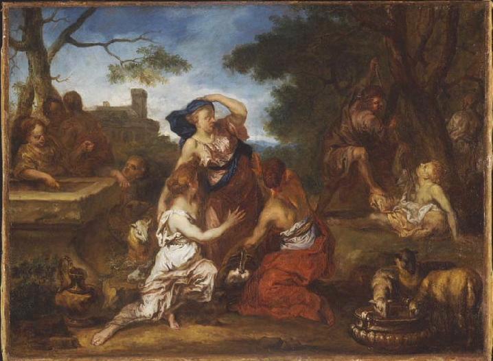Moïse et les filles de Jethro_0