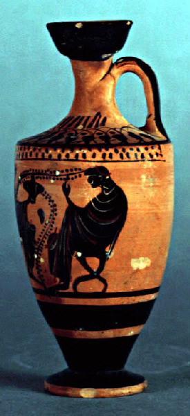 anonyme : Dionysos entre deux ménades