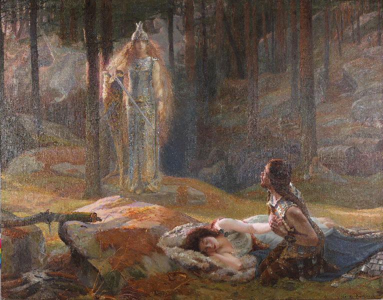 La Révélation, Brünnhilde découvrant Sieglinde et Siegmund_0