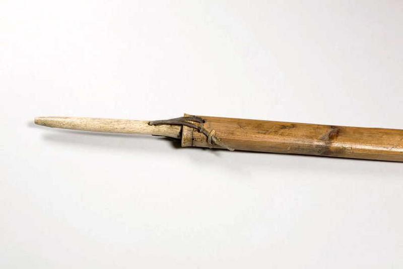 hampe (élément), harpon