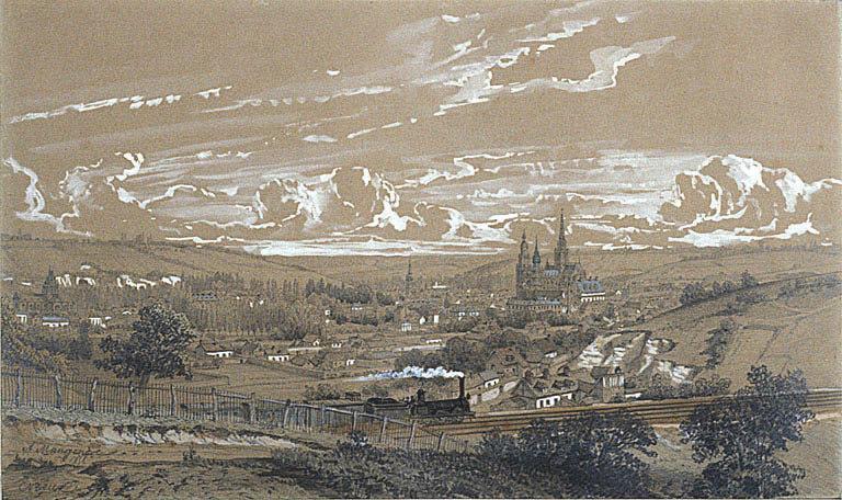 Vue panoramique d'Evreux_0