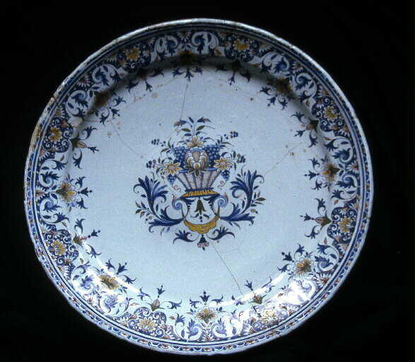 DIONIS François (manufacture) : plat (rond)