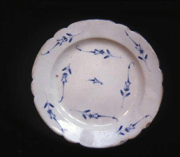 CHAPELLE Jacques (manufacture) : assiette (plate)
