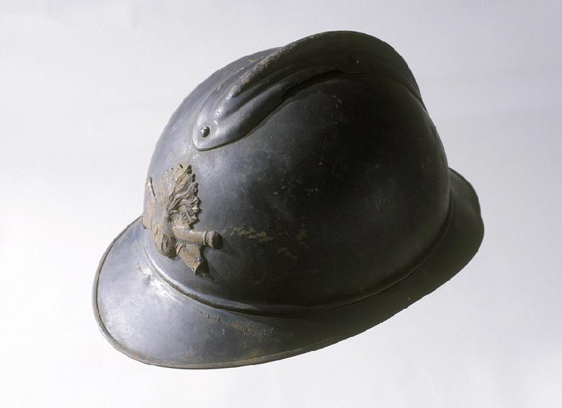 casque : casque de poilu