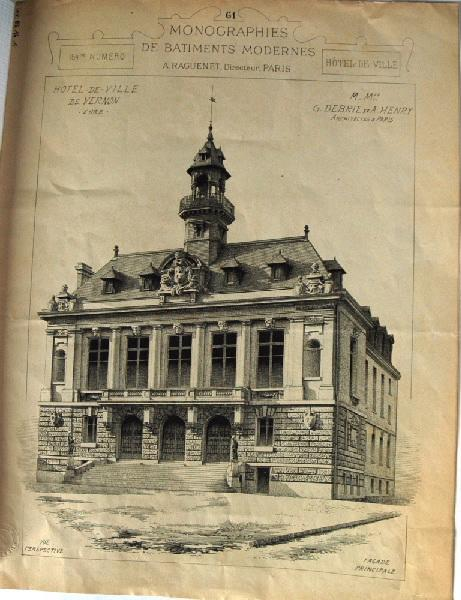 Histoire de Vernon : Hôtel de ville de Vernon
