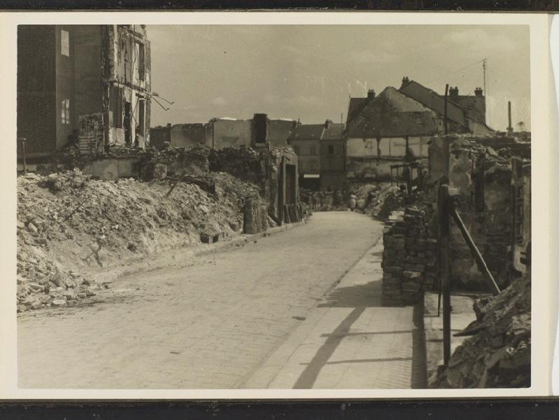 anonyme (photographe) : Rue aux Huilliers