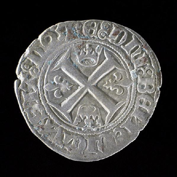 pièce de monnaie, écu : Guénard de Charles VI, 2ème émission