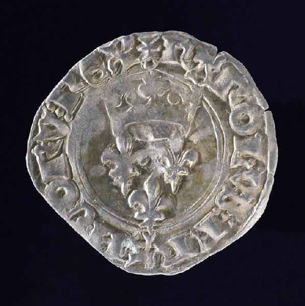 pièce de monnaie : Florette de Charles VI