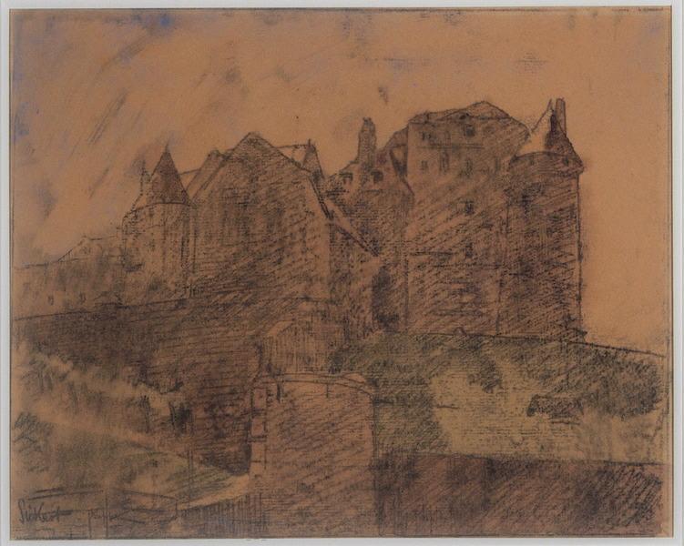 Le vieux château ; Le château, Dieppe (autre titre)_0