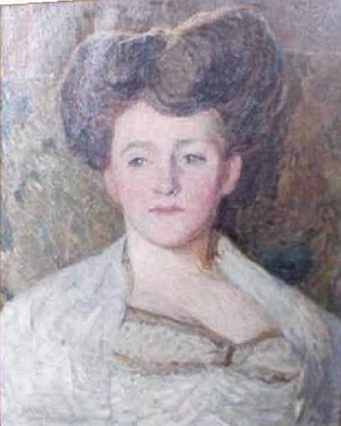 Portrait de Gwendoline Davies ; Portrait de femme (ancien titre)_0