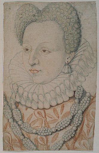 Portrait de Marguerite de VALOIS (la reine Margot)_0