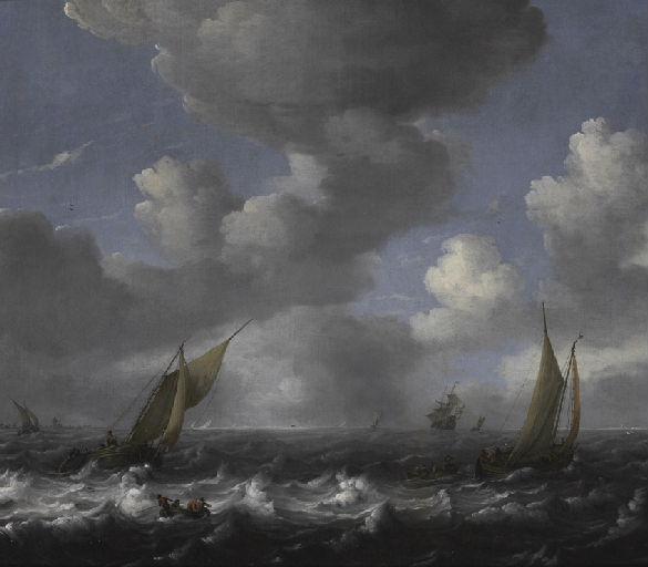 Marine ; Les barques de pêche_0