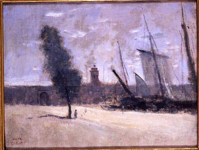 Dunkerque, remparts et porte d'entrée du port_0
