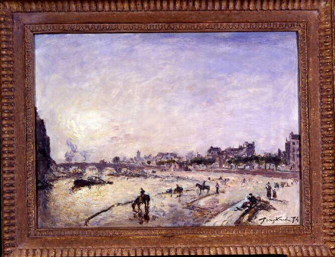 Paris, le pont Marie et le quai des Célestins_0