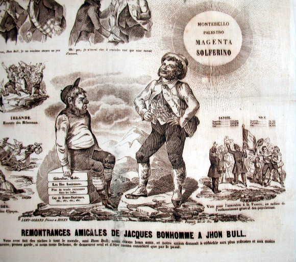 Remontrances amicales de Jacques Bonhomme à John Bull
