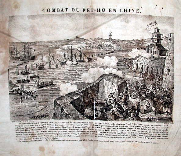 Combat du Peï-Ho en Chine_0