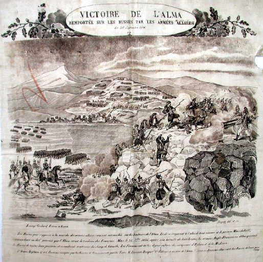Victoire de l'Alma remportée sur les russes par les armées alliées_0