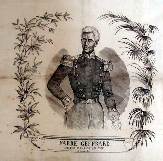 Fabre Geffrard, Président de la République d'Haïti. Le 15 janvier 1859_0