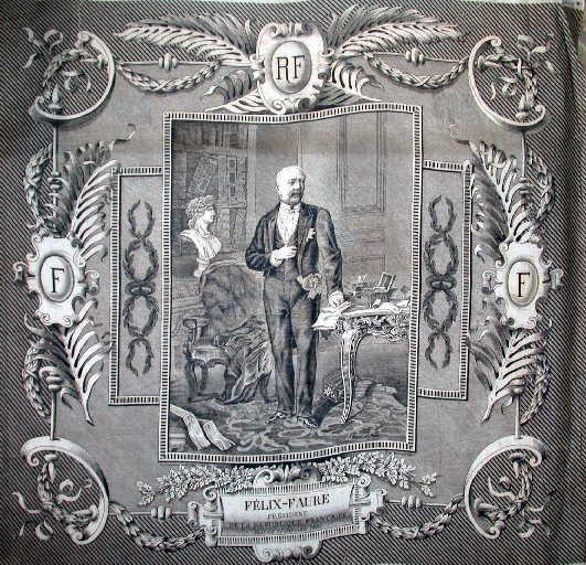 Félix Faure, Président de la République, élu le 17 janvier 1895_0
