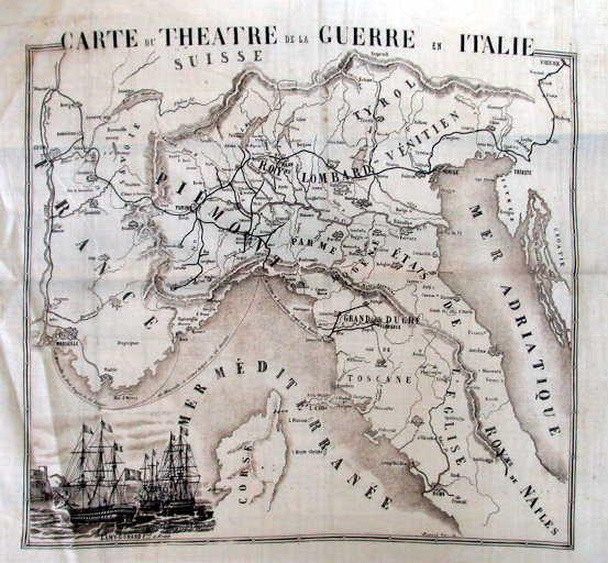 Carte du théâtre de la guerre en Italie_0