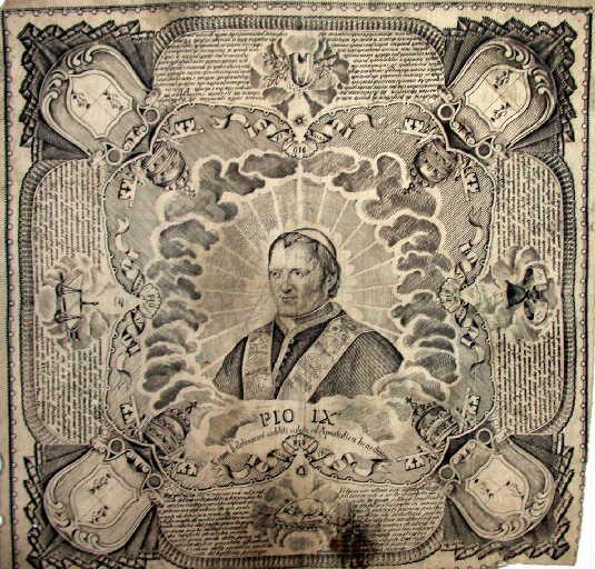 Pio IX. Salut, Bénédiction_0