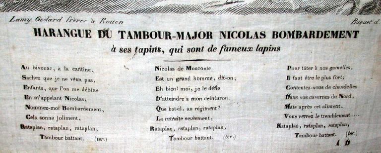 Harangue du Tambour Major