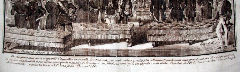Ouverture de l'exposition universelle [1855] par S. M. Napoléon III