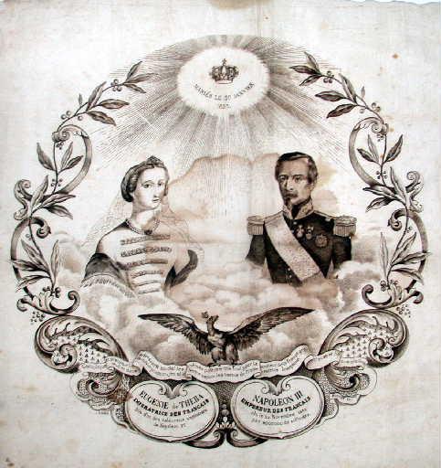 Mariage de Napoléon III et Eugénie de Theba