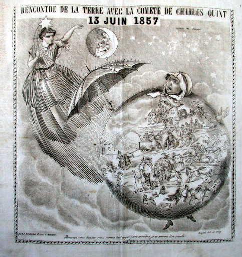 Rencontre de la Terre avec la comète de Charles Quint_0