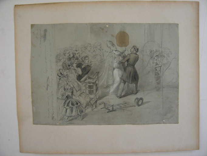 la Mort de l'archevêque de Paris