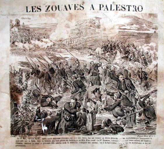 Les Zouaves a Palestro_0