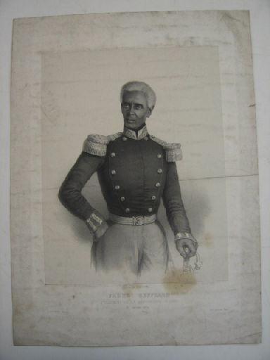 Fabre Geffrard, président d'Haïti