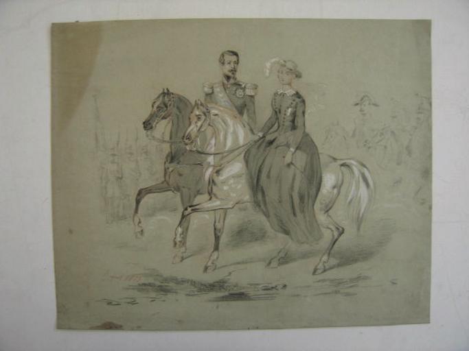 Napoléon III et Eugénie de Théba