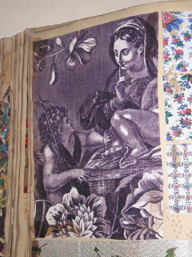 Indiennes...Meubles et mousseline de laine anglaises Echantillons anglais