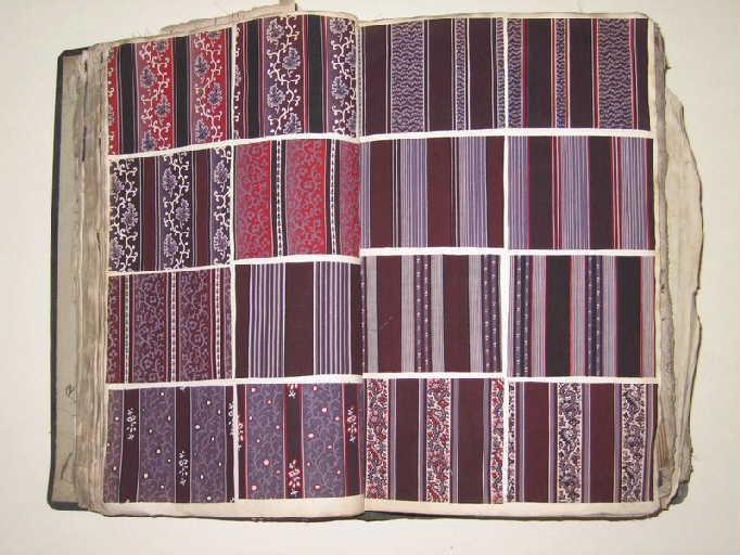 Collection ayant été faite par M. Mispolley offerte au musée par M. E. Lesens laines et indiennes 1843 à 1846_0