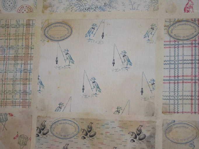N°2 indiennes de Rouen 1883 1884 1885 1886 1887 1888