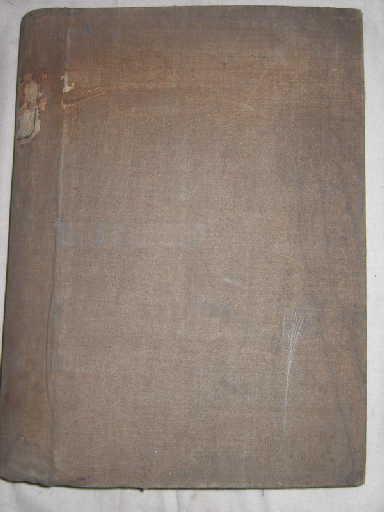 Impressions sur laine 1849 à 1850