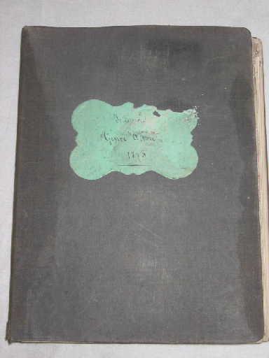 Indienne genre Alsace 1875 à 1877