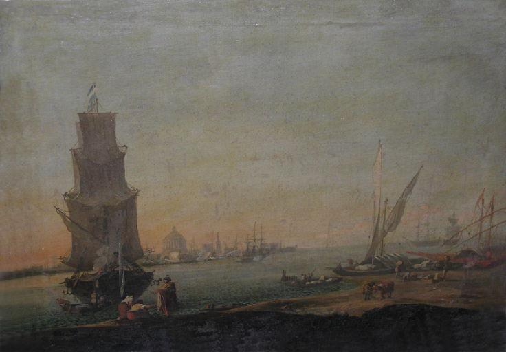 Vue de Venise (titre moderne) ; Marine (titre ancien)_0
