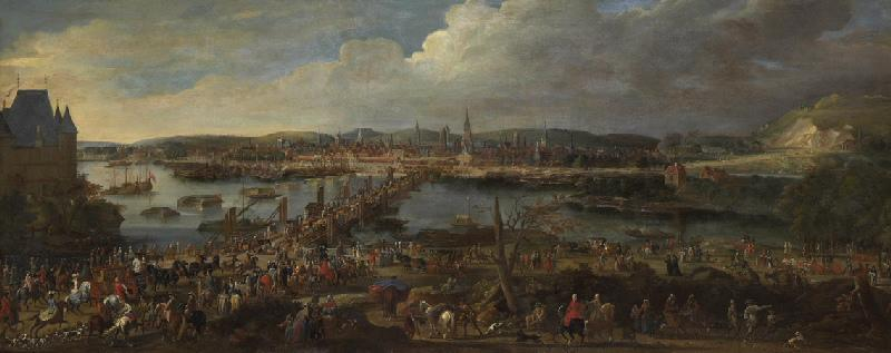 Vue de Rouen prise de Saint-Sever (entrée d'un gouverneur de Normandie)_0