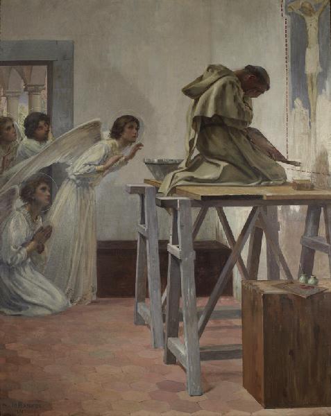 Fra Angelico visité par les anges_0